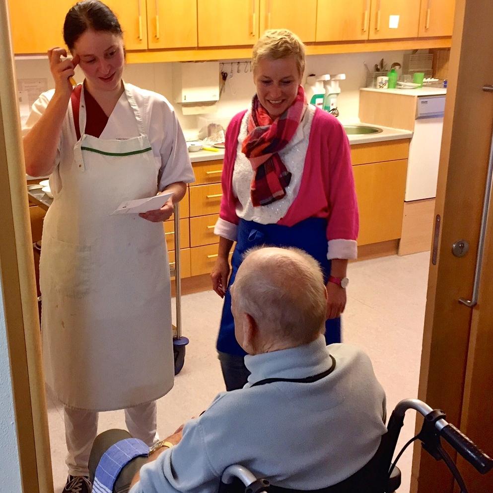 Ein Tag als Pflegekraft