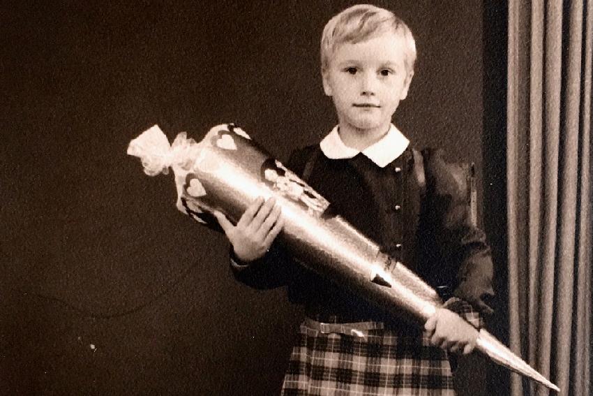 Einschulung 1969