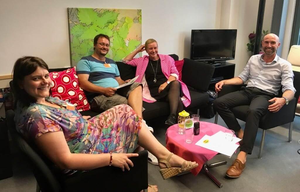 Podcast mit Yvonne Falckner, Roger Konrad und Marcus Jogerst-Ratzka
