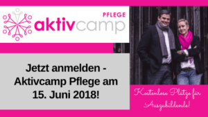 Aktivcamp Pflege 2018